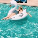 Nafukovací kruh - Bílá labuť