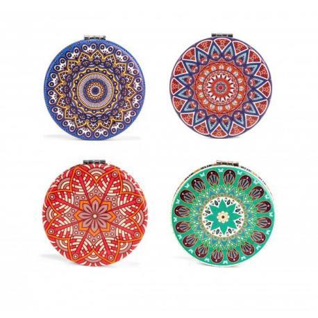 Mandala - kapesní zrcátko
