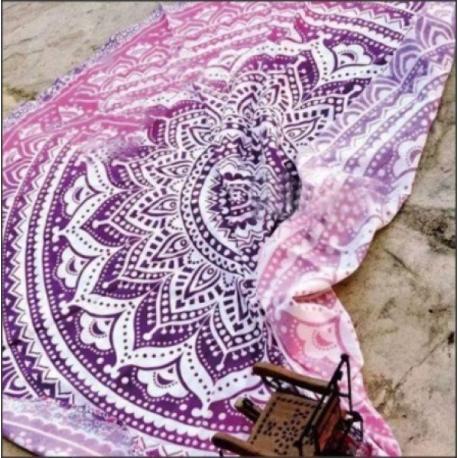 Polyesterová deka - mandala - Varianta