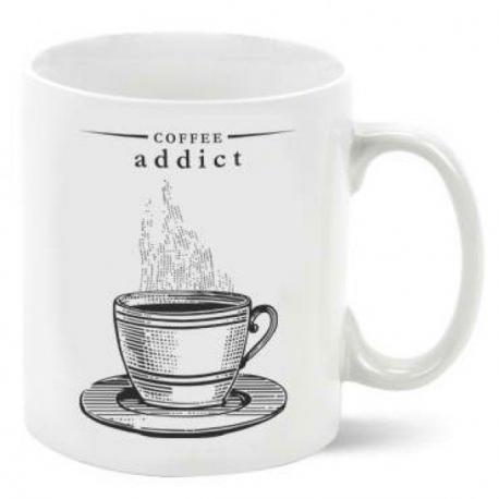 Hrnek - závislost na kávě